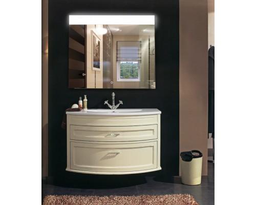 Зеркало в ванную с подсветкой Аврора
